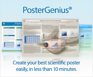 PosterGenius® - Scientific posters made easy.